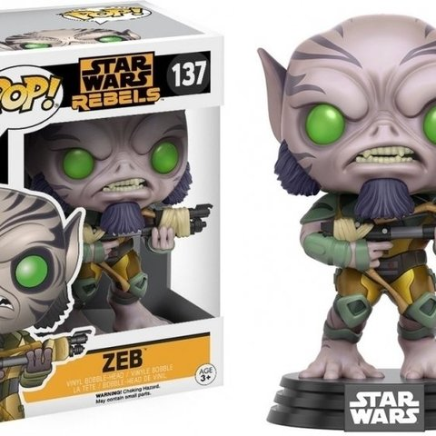 Star Wars Rebels Pop Vinyl: Zeb