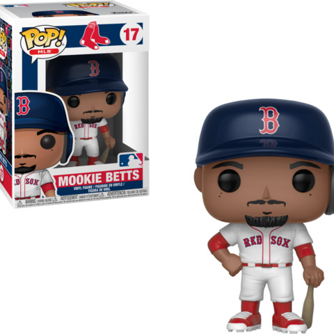 MLB Boston Red Socks Pop Vinyl: Mookie Betts