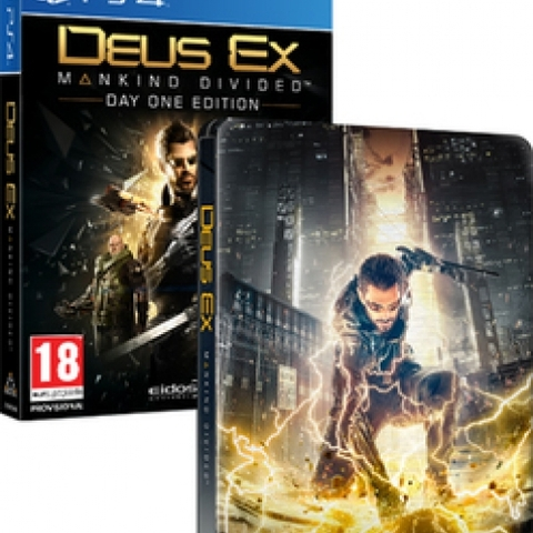 Deus Ex Mankind Divided (Day 1 Edition) (steelbook)