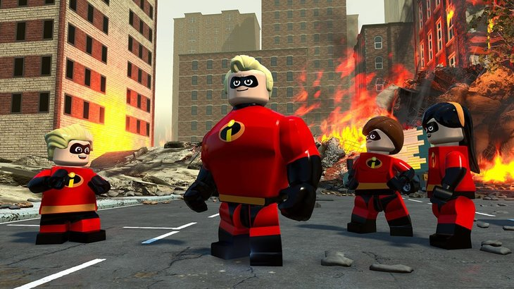 Just look at some of these good superpowers in LEGO The Incredibles