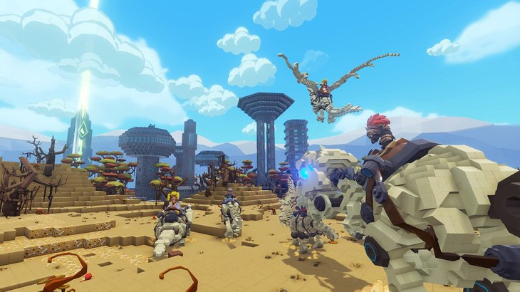 Free Skyward DLC Coming to PixARK on August 20