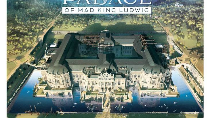 The Palace of Mad King Ludwig description