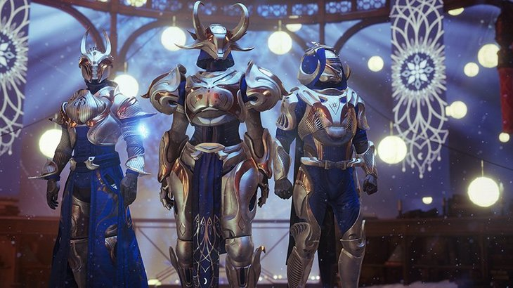 The Dawning holiday celebration is coming to Destiny 2