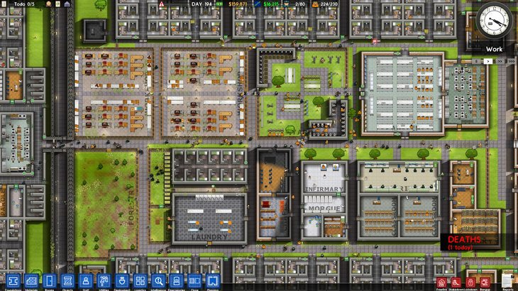 Prison Architect's Free Psych Ward Update Is Out Now