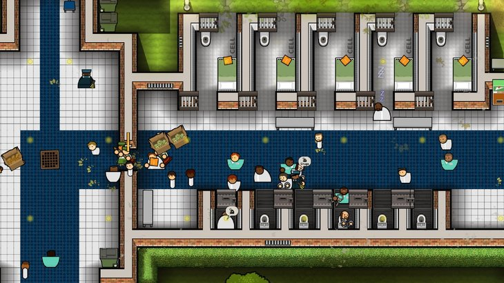 Prison Architect's refurbished Psych Ward opens today