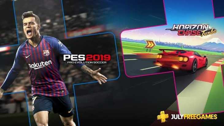 PlayStation Plus July 2019 Free Game Includes PES 2019, Horizon Chase Turbo