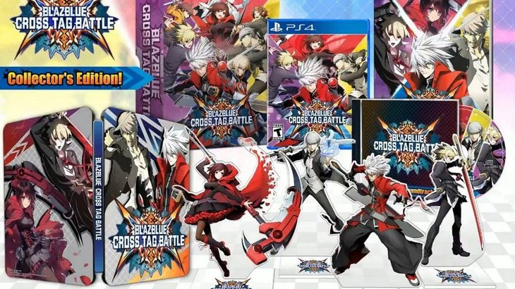 North American Collector's Edition revealed for BlazBlue: Cross Tag Battle