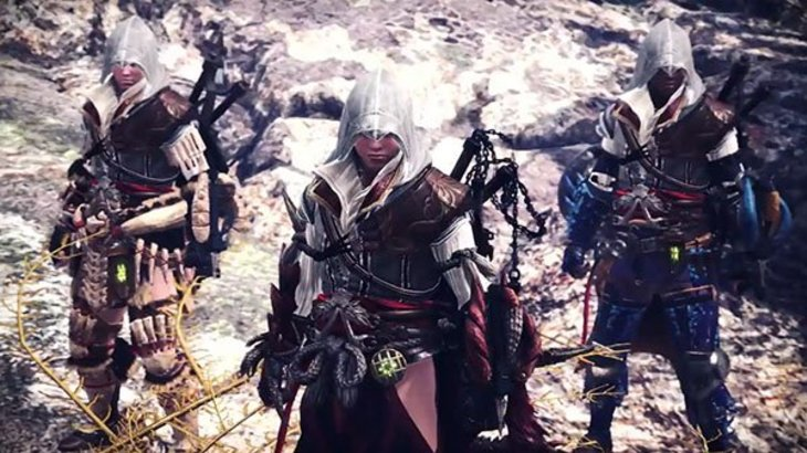 Monster Hunter: World x Assassin's Creed collaboration announced