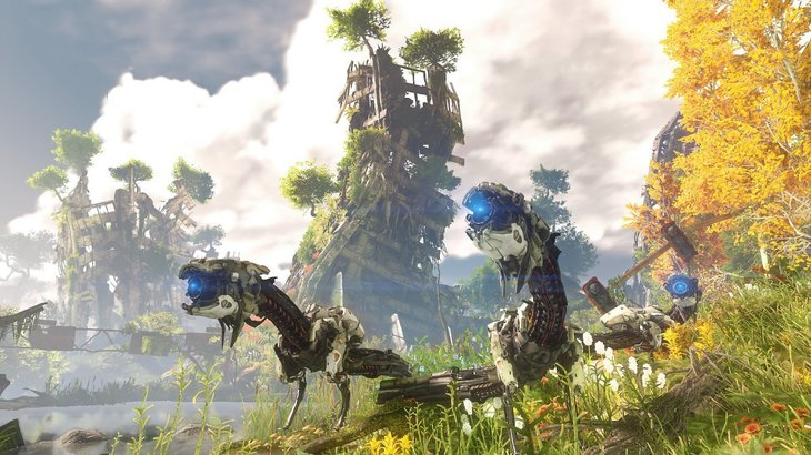 AI Analysis of Horizon: Zero Dawn Finds Machines on Their Own Will Request to Join Herds