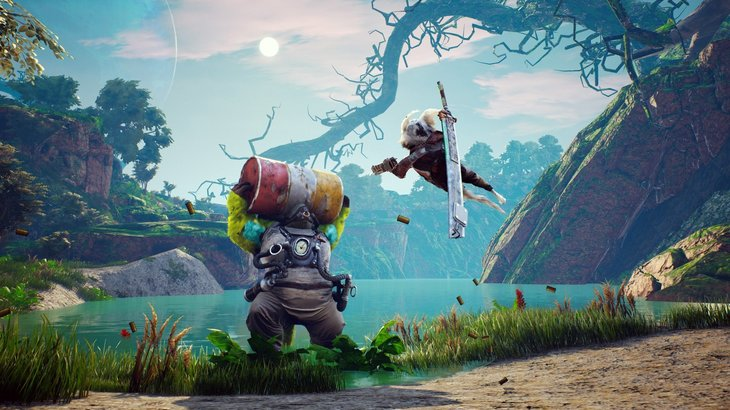Don't sleep on the wild and weird action-RPG Biomutant