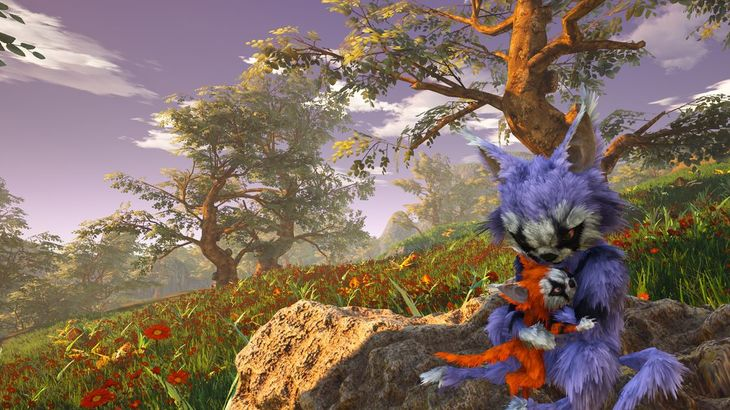 News: Biomutant trailer features lush environments and a giant mech