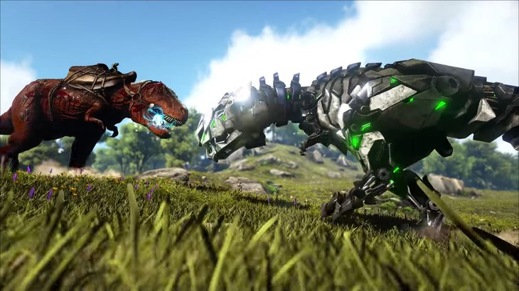ARK: Survival Evolved makes its Switch debut next month