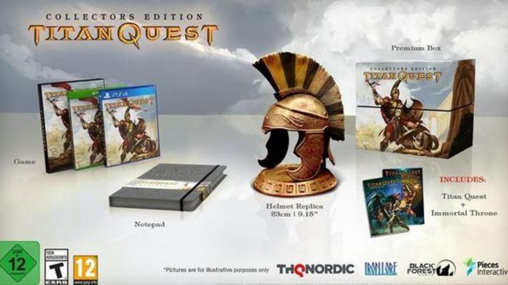 Titan Quest has finally arrived on consoles. Grab your tunic!