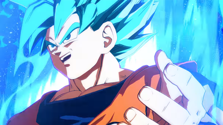 Final Showdown taps into the power of gods with Super Saiyan Blue Goku in Dragon Ball FighterZ