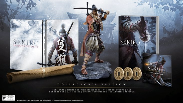 Sekiro Shadows Die Twice unsheathes collector's edition and release date