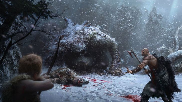 Oh yeah, another God of War is on the way: Here's some concept art