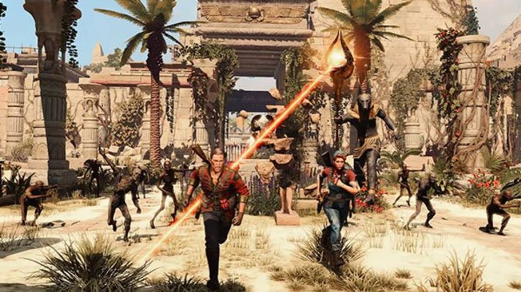 Strange Brigade DLC 'Thrice Damned #3: Great Pyramid of Bes' trailer