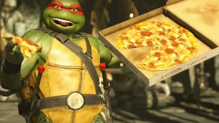Here's our first look at The Teenage Mutant Ninja Turtles kicking ass in Injustice 2