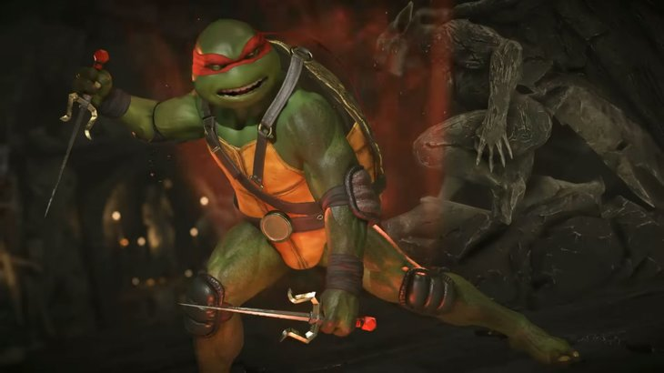 The Teenage Mutant Ninja Turtles to party in Injustice 2 later this February