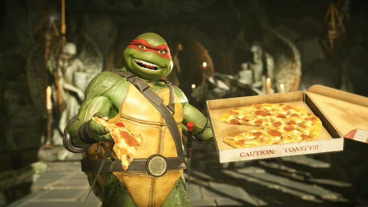 Check out the Ninja Turtles in action in Injustice 2