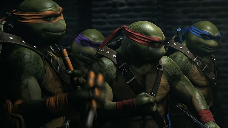 Injustice 2 trailer provides a first look at Teenage Mutant Ninja Turtle gameplay