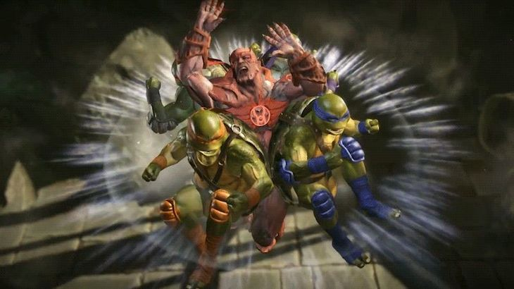 Our First Look At Injustice 2's Ninja Turtles In Action