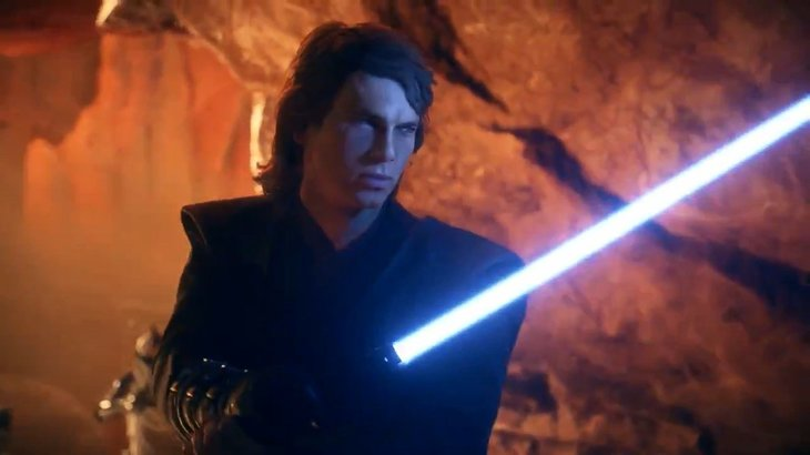 Here's our first look at Anakin Skywalker in Star Wars: Battlefront 2