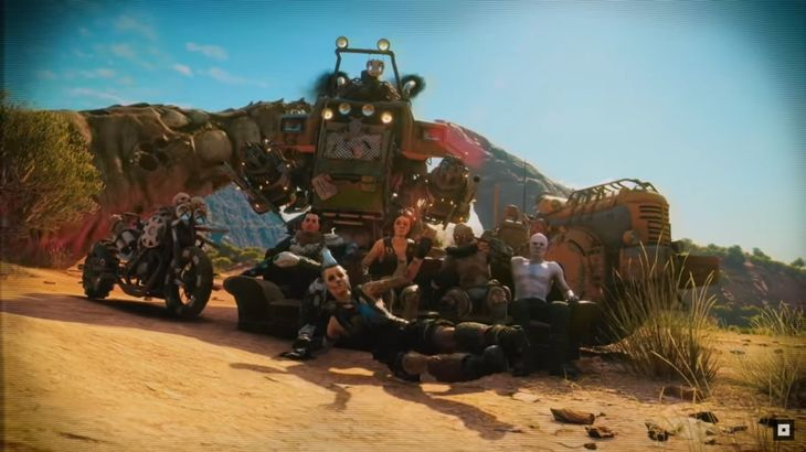 Rage 2 E3 trailer teases pilotable mechs and giant sandworms