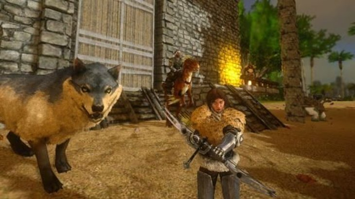 Ark plays better on mobile than you'd think, but really needs crossplay