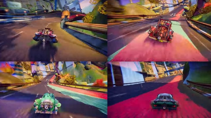 Trailblazers looks like it could scratch that F-Zero itch, and it's also coming to Switch