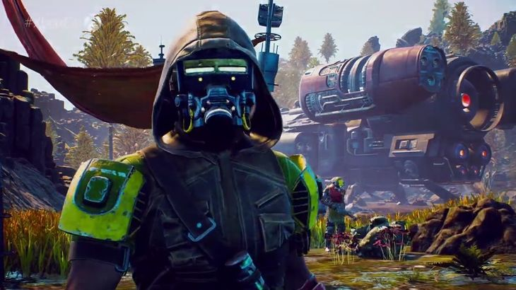 Disguises and slow-mo combat have me itching to visit The Outer Worlds