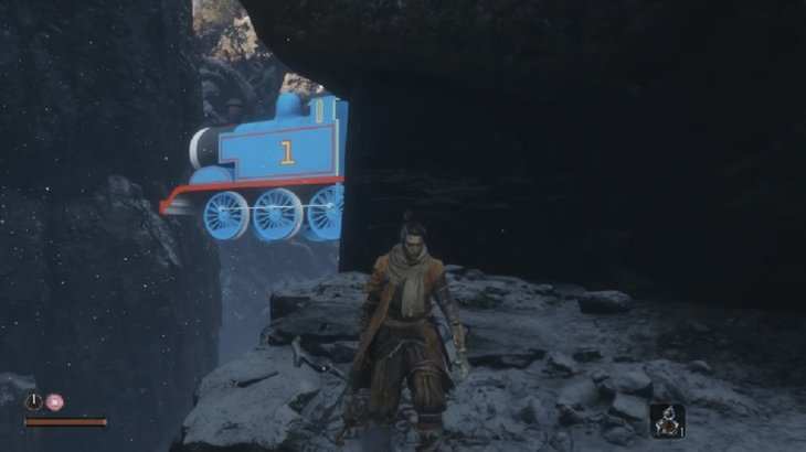 New Sekiro mod replaces the Great Serpent with a dear old friend