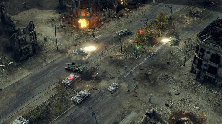 Sudden Strike 4's launch trailer shows off the series' latest take on World War 2