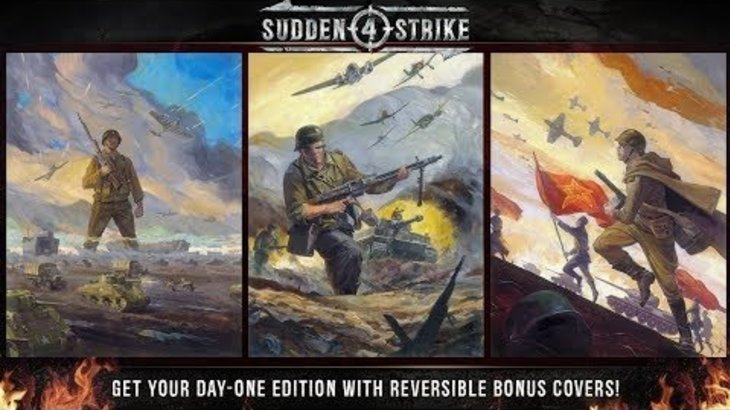 Sudden Strike 4 -  Limited Day One Edition | Reversible Covers (US)