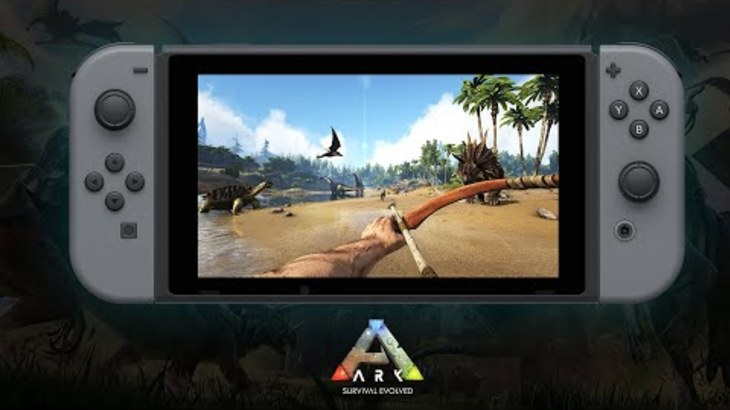 ARK: Survival Evolved on Nintendo Switch, Coming November 30, 2018!