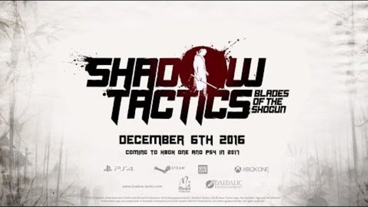 Shadow Tactics: Blades of the Shogun - Release Date Trailer